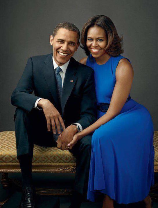 President Obama and Michelle image