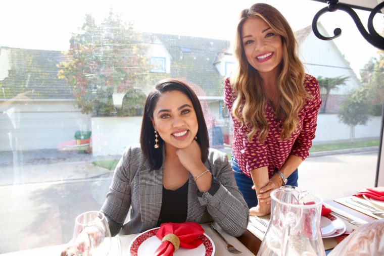 ayesha Curry and Sabrina Soto