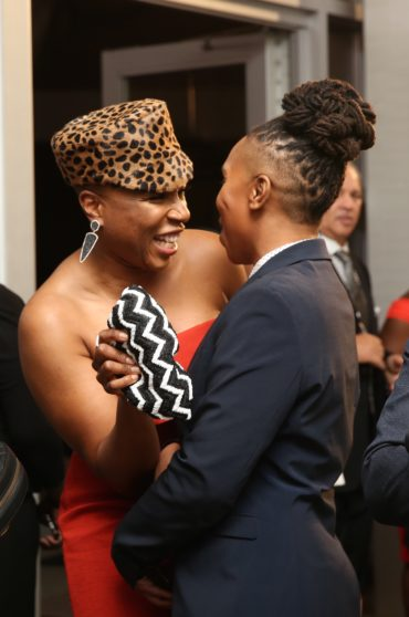 Lena Waithe and Aisha Hinds
