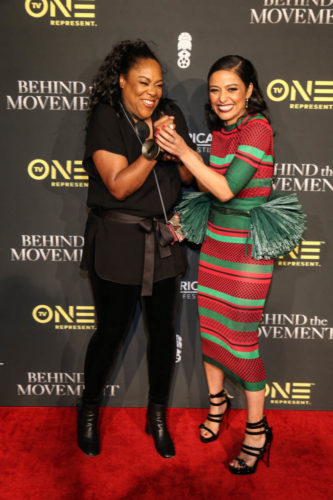 D'Angela Proctor and Meta Golding